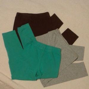 Carter's 3 Piece Bundle Pants / Leggins size 5 EUC